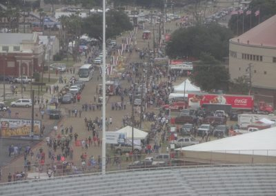 Independence Bowl at Independence Stadium, Activity Outside