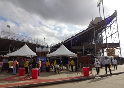 Independence Bowl at Independence Stadium, Fans Coming in