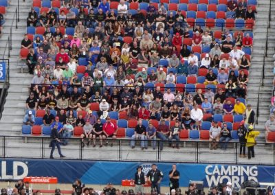 Independence Bowl at Independence Stadium, Fans Looking on