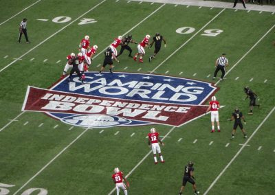 Independence Bowl at Independence Stadium, Game Action