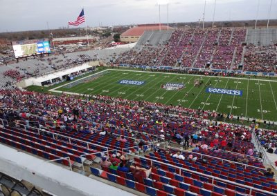 Independence Bowl at Independence Stadium, Interior