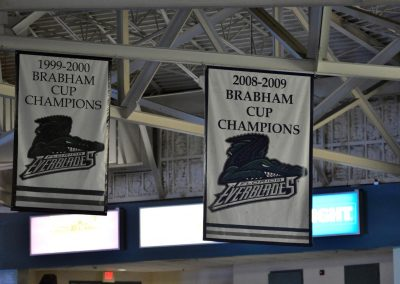 Germain Arena, Florida Everbades Championship Banners