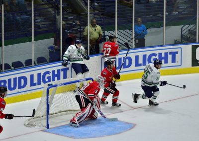 Germain Arena, Florida Everblades in Action