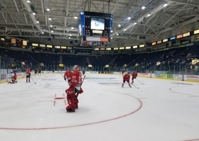 Germain Arena, View of the Ice from behind the Goal