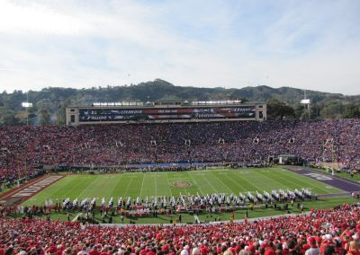 Spectacle at the Rose Bowl