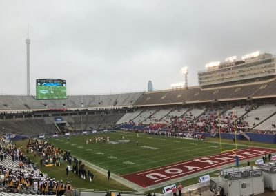 Cotton Bowl during the Heart of Dallas Bowl, Corner View