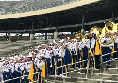 WVU Band at the Cotton Bowl for the Heart of Dallas Bowl