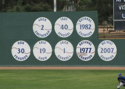 Retired Numbers at Riverside Sports Complex