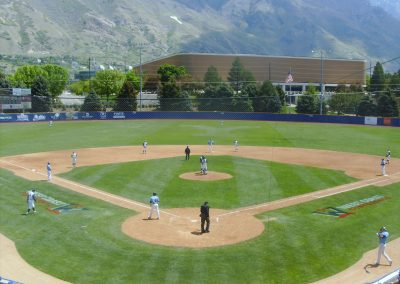 Larry H Miller Field - Home Plate View