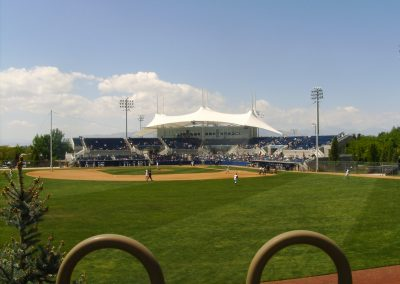 Larry H Miller Field - Outfield View
