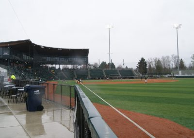 PK Park - View from Right Field Line