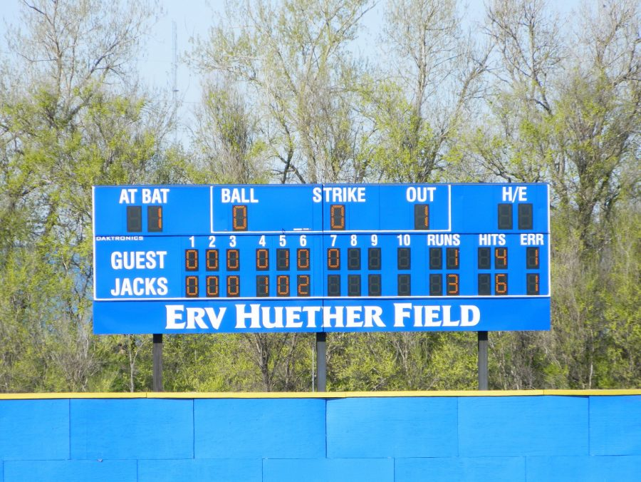 Erv Huether Field Scoreboard