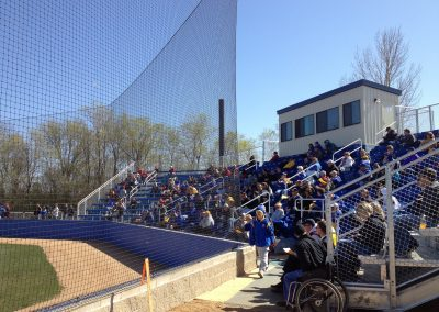 Erv Huether Field Grandstand