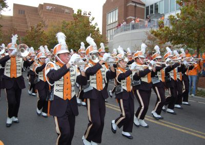 Tennessee Marching Band Outside Neyland Stadium