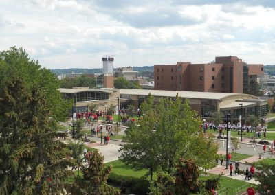 Stambaugh Stadium, Aerial View of Youngstown State Campus