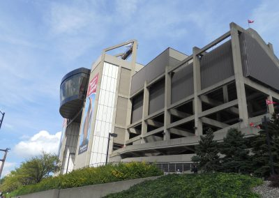 Stambaugh Stadium, Exterior