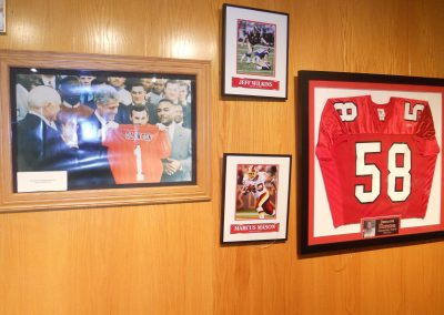 Stambaugh Stadium, Football Mementos on Display