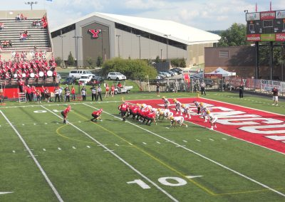 Stambaugh Stadium, Youngstown State Penguins in Action