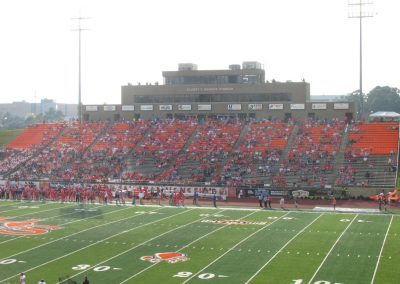 Elliott T. Bowers Stadium, Press Box and Home Side Seating