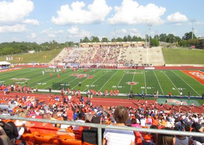 Elliott T. Bowers Stadium, View from the Sideline