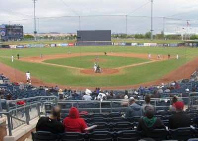 Peoria Sports Complex - View from Behind Home