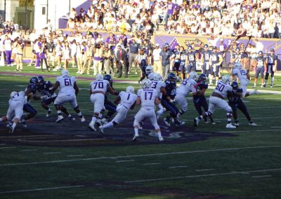 JMU Dukes in Action at Bridgeforth Stadium Zane Showker Field