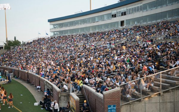 A Full House at Finley Stadium