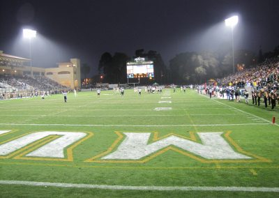 Alex G. Spanos Stadium, a look at the field