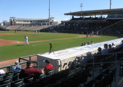 Surprise Stadium - Nets End at Far Side of Dugout