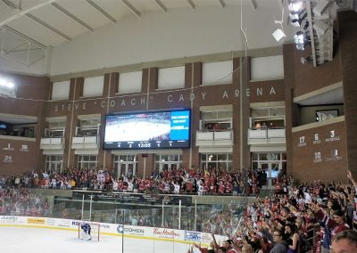 Cady Arena Student Section