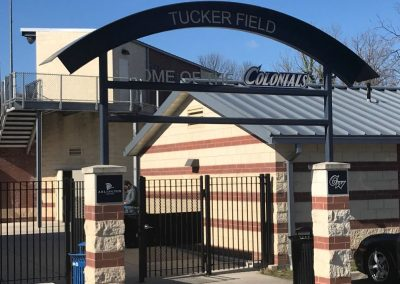 Tucker Field Entrance