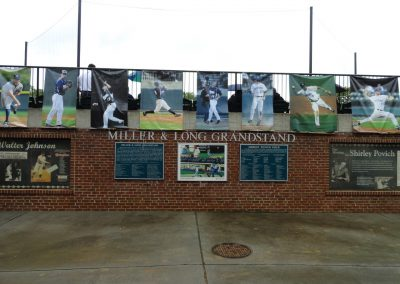 Miller & Long Grandstand at Shirley Povich Field