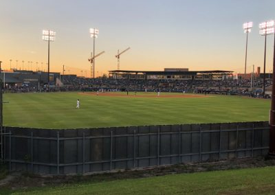 Reckling Park, View from Behind the Outfield