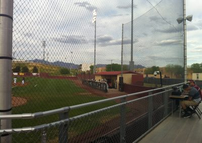Presley Askew Field - Chain Link Fence