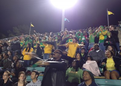 Strawberry Stadium, Southeastern Louisiana Lions Fans Looking on