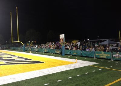 Strawberry Stadium, Southeastern Louisiana Lions Fans Watching from End Zone