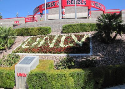 Earl Wilson Stadium - Plaza with Flowerbed