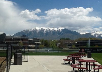 UCCU Ballpark - Mountain View and Picnic Tables
