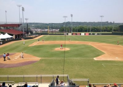 Bobcat Ballpark - View from First Base Side