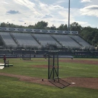 Left Field Bleachers at Eastwood Field