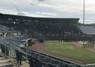 Seating Bowl at Eastwood Field
