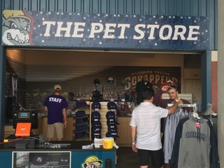 Team Store at Eastwood Field