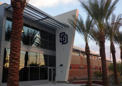 Padres Clubhouse and Main Training Facility at Peoria Sports Complex