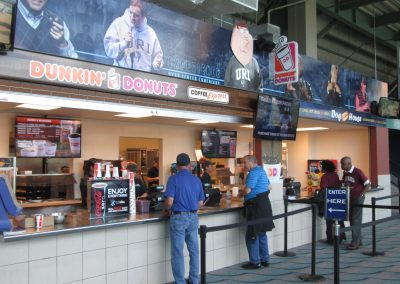Ryan Center Concession Stand