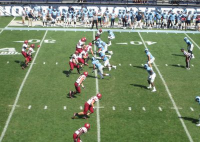 Rhode Island Defense in Action