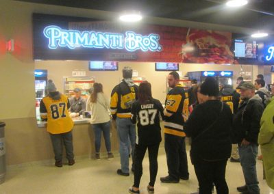Primanti Bros. Stand at PPG Paints Arena