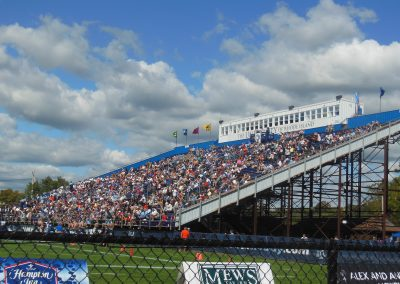 Meade Stadium, visiting stands
