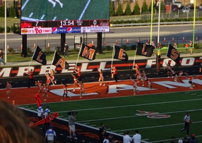 Barker-Lane Stadium, Campbell Camels Cheer Squad