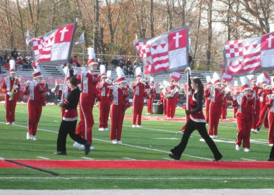 Flag Squad at Campus Field