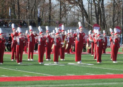 Marching Band at Campus Field